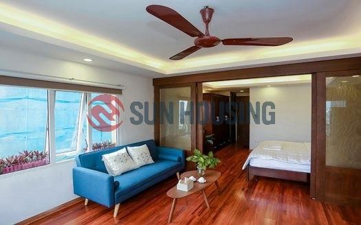 Bright serviced apartment for rent in Nam Ngu, Hoan Kiem. 1 bedroom 55 sqm.