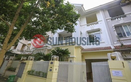 Large and nice villa 5 bedrooms in Ciputra to rent