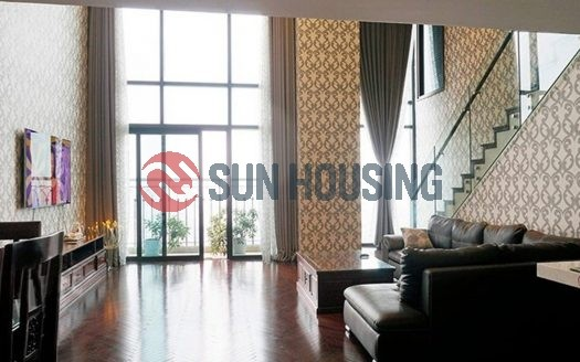 Luxury pen house apartment city view with 3 bedroom in Hoang Thanh Tower for rent.