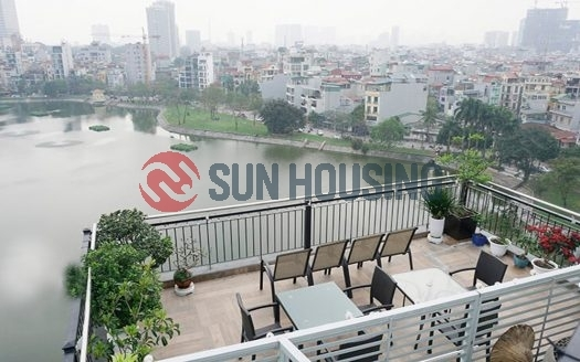 Service lake view apartment with 1 bedroom in Ho Ba Mau, Dong Da