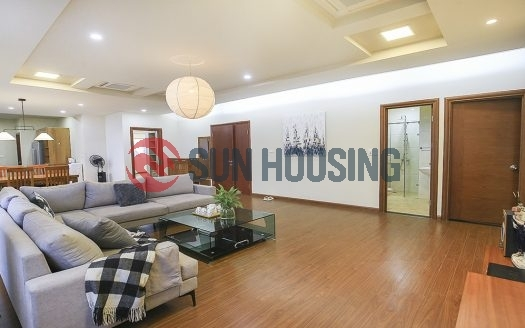 Lake views style 03 bedrooms apartment in Quang Khanh to rent.