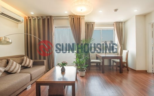 1 bedroom stylish modern apartment in CTM building, Cau Giay street for rent.