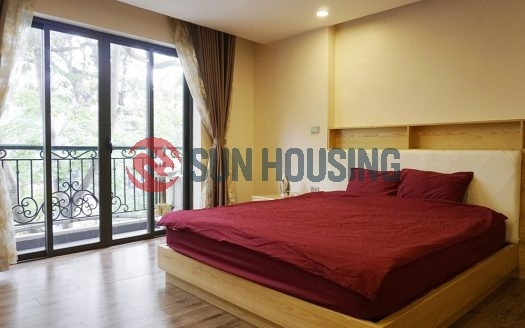 Main road 1 bedroom apartment for rent in Ba Dinh center | Good location