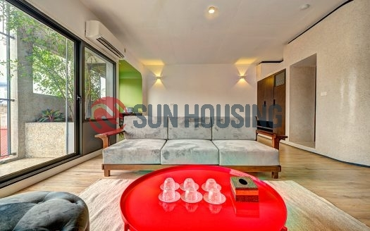Recently finished well-designed studio for rent in Doi Can, Ba Dinh