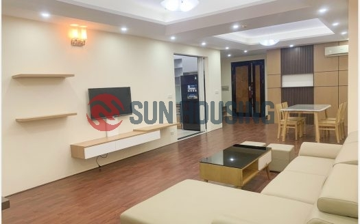Modernly renovated 3 bedrooms apartment in Ciputra for lease.