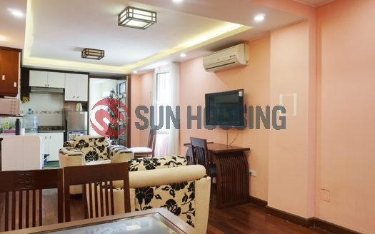 Nice view, 1 bedroom serviced apartment for rent in Hoe Nhai street