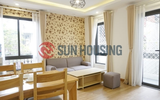 Stylish and nice view 2 bedrooms apartment in Phu Dong Thien Vuong street for rent located on a high floor.