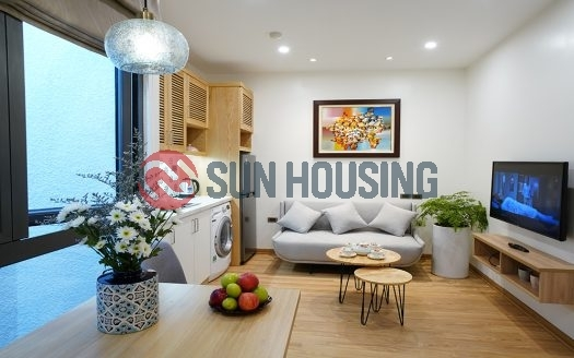 Stylish studio apartment in Dich Vong Hau street to rent.