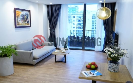 Super new and modern 1 bedroom service apartment for rent in Dich Vong Hau Street, Cau Giay district.