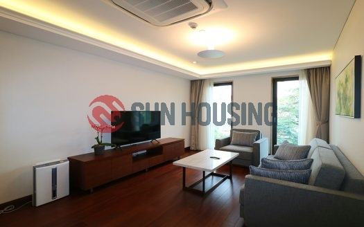 Truc Bach city view on the 6th floor, 1 bedroom service apartment in Truc Bach street to rent.