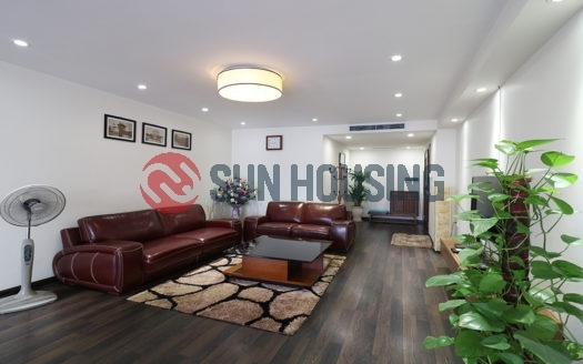 Main street 2 bedroom apartment for rent in Hanoi Center, near Vincom Ba Trieu