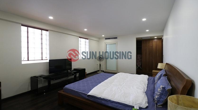 Main street 2 bedroom apartment for rent in Hanoi Center, near Vincom Ba Trieu