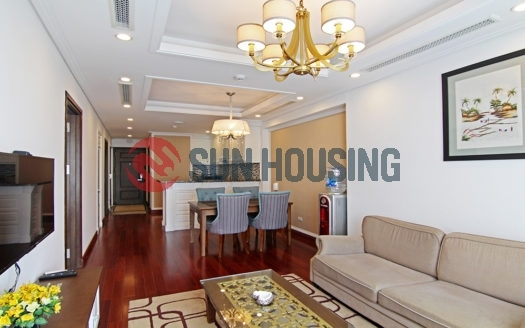 Top quality 2 bedroom apartment in main road Trieu Viet Vuong for rent