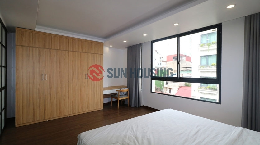 Luxury apartment in Trieu Viet Vuong street, 1 bedroom with nice view for rent.