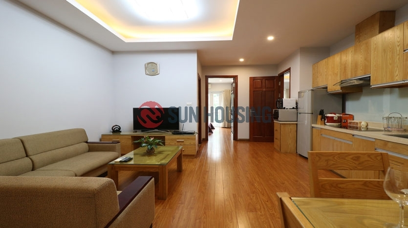 Size 85 sqm, 2 bedrooms apartment with full services.
