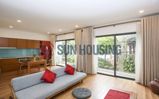 Stylish 1 bedroom apartment for rent in Lane 31 Xuan Dieu, Tay Ho