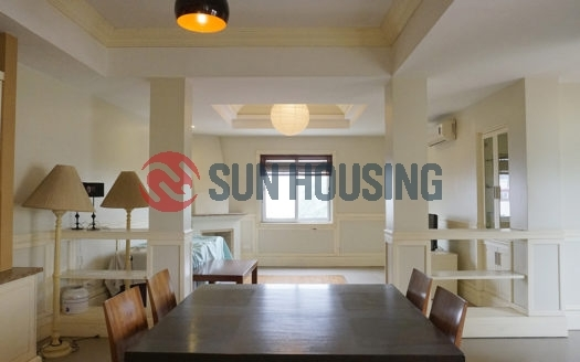 Hoan Kiem 2 bedroom apartment for rent, full of natural light, car access.