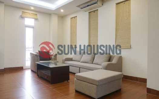 It's a 01 bedroom apartment for rent on Ton That Thiep street, Ba Dinh.