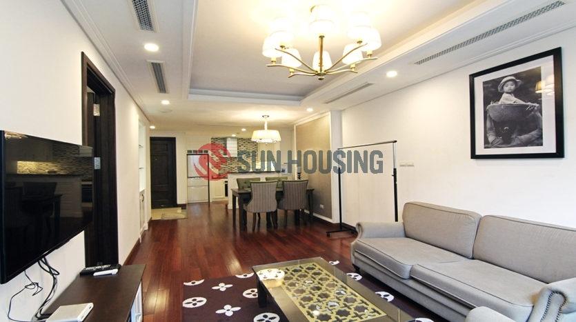 Top class 1 bedroom apartment for rent in Hanoi Center, near Vincom Ba Trieu
