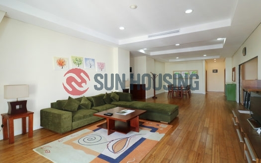 Nice apartment Pacific Hanoi has the living area of 190 sqm and the rental price of $2600