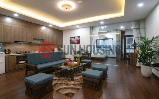 1 bedroom apartment for rent long term in Bao Hung Apartment Dich Vong Cau Giay