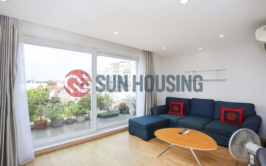 A bright 1 bedroom with big balcony near Quang Ba Park, Westlake center
