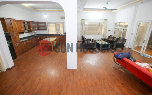 Furnished 100sqm x 3-floor house for rent in To Ngoc Van, 4 bedrooms