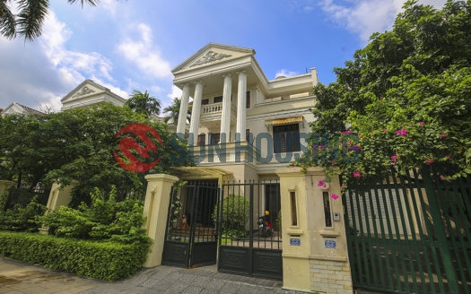 Big garden and larger villa for rent in Ciputra Hanoi