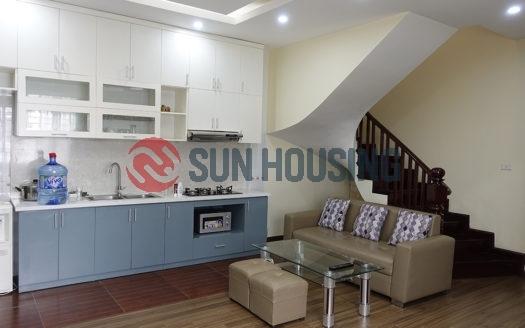 City nice view, 1 bedroom apartment 70 sqm in Van Bao street, Ba Dinh to rent.