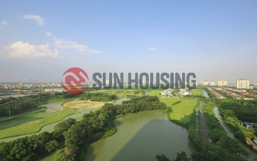 Golf course view apartment for rent in L Ciputra Hanoi