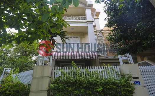 The empty villa for lease in Ciputra Hanoi has a good price