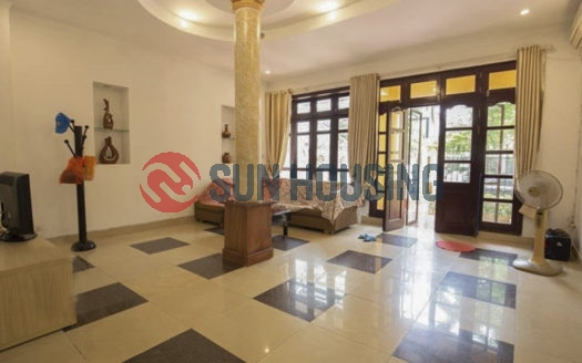 The villa for rent in Ciputra Hanoi has a good price