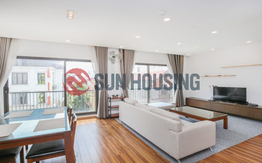 Main road To Ngoc Van 2 bedroom apartment for rent, brightly with natural light