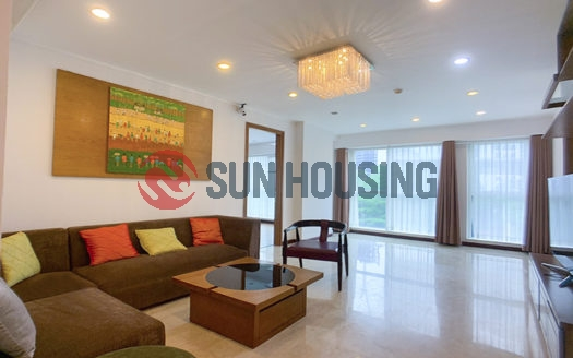 New and modern 3 bedrooms apartment in L building Ciputra for rent