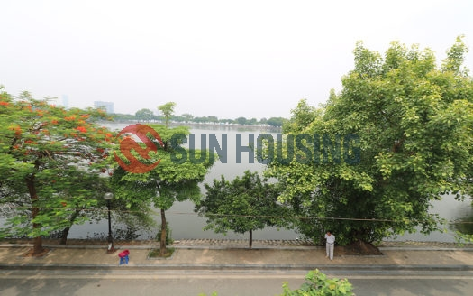 This Modern furnished garden house to lease in Tran Vu street will impress you!