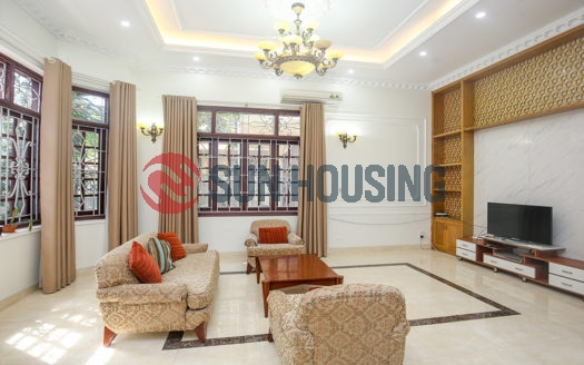 Unique house modern style and furnished 6 bedrooms for rent in Tay Ho street