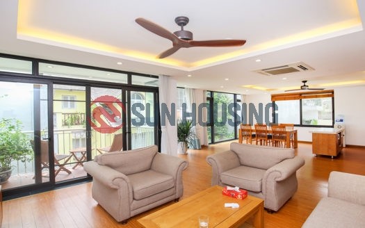 150 sqm 3 bedroom apartment in Quang Khanh for rent, full of natural light