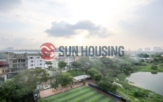 High floor Tay Ho 1 bedroom apartment, open view, many natural lights