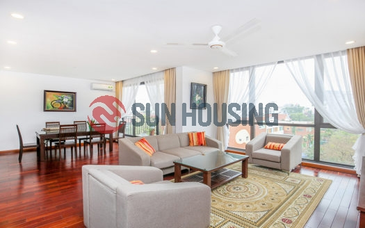 Available good location 3 bedroom apartment in To Ngoc Van, car access