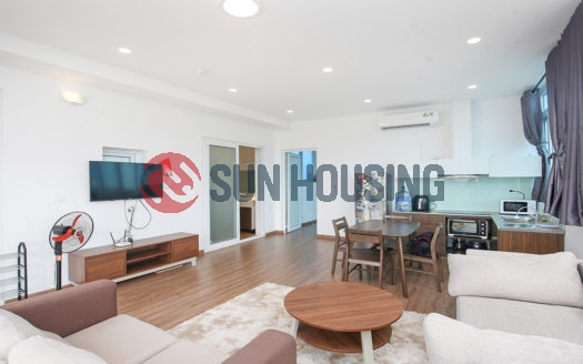 A lake view 1 bedroom apartment on the top floor, Quang Khanh street!