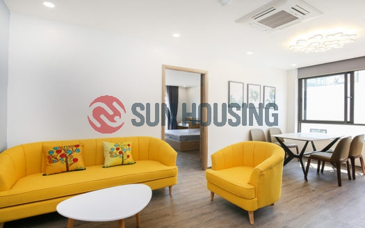 Newly finished 50 sqm 1 bedroom apartment for rent in Trinh Cong Son