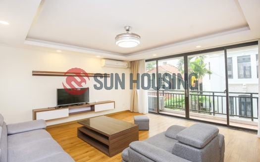 A nice apartment is located at To Ngoc Van, Tay Ho for rent.