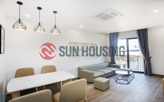 Beautiful city view and modern style 01 bedroom apartment in Trinh cong Son street for lease.