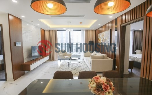 A nice view 3 bedrooms apartment in Sunshine city for rent