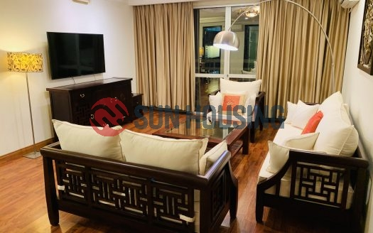 Modern furnishing 3 bedrooms, 150 sq m in G2 Tower Ciputra to rent.