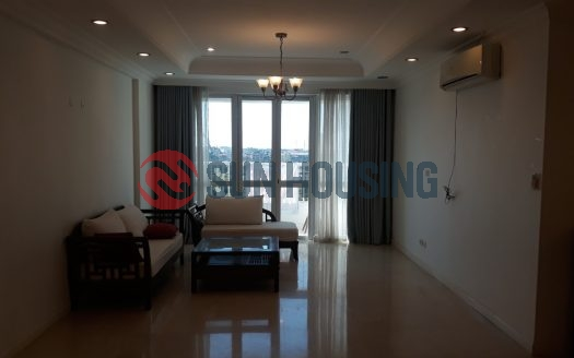 This larger apartment in P2 building Ciputra Ha Noi for lease