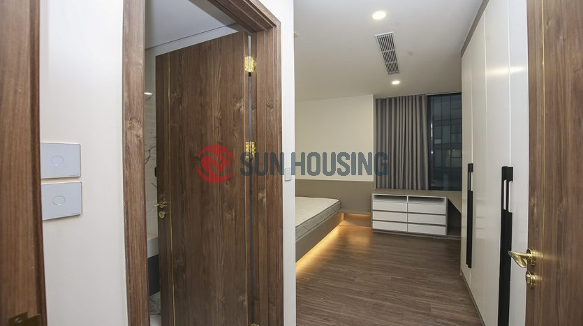 This nice view apartment is very modern and high quality in S4 Tower Sunshine city for lease